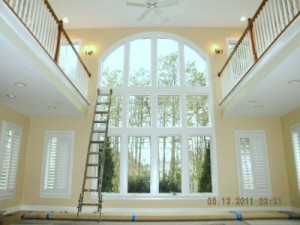 Interior Painting in Cape Cod home.
